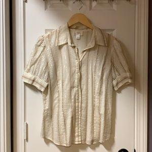 Ann Taylor Loft Short Sleeve - Size 14